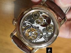Blancpain Tourbillon Carrousel watch (back)