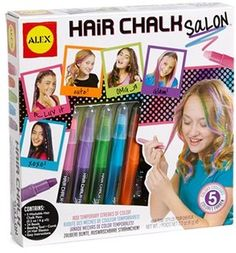 'Hair Chalk Salon' Hair Kit (Little Girls & Big Girls)