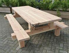 Picknicktafel douglas de moderne picknicktafel