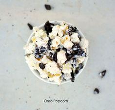 Recetas de palomitas: Palomitas de Oreo