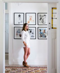 Lovely gallery wall