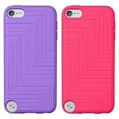 5f10965496 Belkin iPod Touch Flex Case - 2 Pack - Purple Pink (F8W142ttC01-2