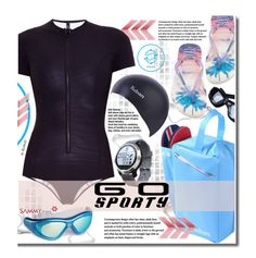 """""""Go Sporty!"""" by beebeely-look ❤ liked on Polyvore featuring Lisa Marie Fernandez, Havaianas, sport, swimming, goggles, sammydress and sportystyle"""