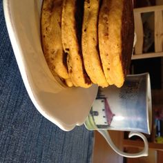 Pumpkin Spice Pancakes ~ {Eat Seasonal}