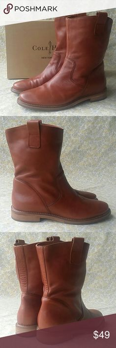 Cole Haan Woman's Soft Genuine Leather Boots Excellent Condition Cole Haan Soft…