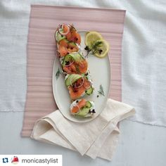 @monicastylist with lunch inspiration yet again! @repostapp. ・・・