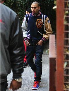 Chris Brown fashion