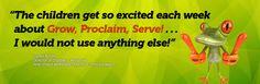 Grow · Proclaim · Serve