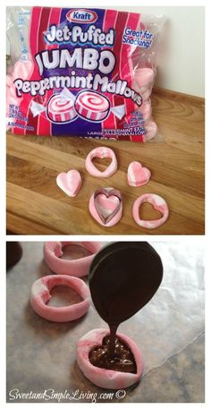 Valentine�s Day Ideas: Hot Chocolate Bar from SweetandSimpleLiving.com