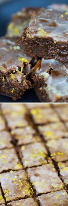 These warm, spicy, moist Warm Lemon-Glazed Gingerbread Bars are so easy & BEYOND delicious. Whip this quick dessert up for gingerbread lovers in your life!