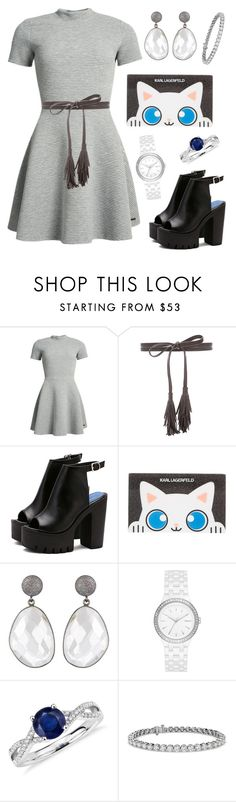 """Untitled #420"" by joice-martins ❤ liked on Polyvore featuring Superdry, B-Low the Belt, Karl Lagerfeld, DKNY and Blue Nile"
