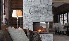 Særegen laftehytte på Hovden Winter Lodge, Relaxing Places, Cozy House, Modern Rustic, Farmhouse, Cottage, Fireplaces, Winter Sports, House Ideas