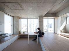 Tatsumi Apartment House Proyecto residencial ubicado en la parte oriental de Tokyo.