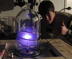 Building a fusion reactor in a basement workshop - just don't try this on your own!