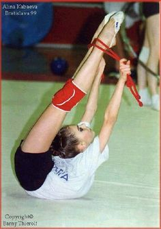 Alina Kabaeva - Rhythmic Gymnastics