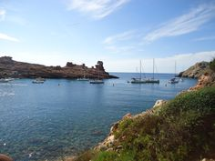 Cala Morell-Menorca Menorca, Places Ive Been, World, Beach, Water, Outdoor, Balearic Islands, Wonderful Places, Pictures