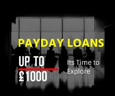 Payday loans are a new type of loans that can be easily accessed via the Internet. It is the most convenient way of online money exchange system. These loans are short term loans between £100 to £1000 and may be the best source of funds for you during cash shortage.  #PaydayLoans #OnlineLoans