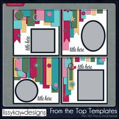 From the Top Templates by Lissy Kay Designs