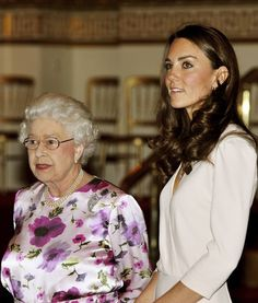 THE Queen and a future queen.