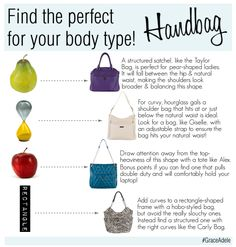 Find the right bag for your body type with Grace Adele ...