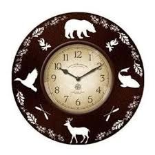 FirsTime Lodge Collection Clock - In. by FirsTime at Fleet Farm