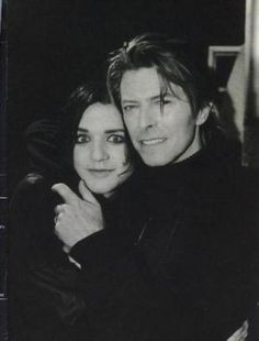 Brian Molko and Bowie.             <3 ...Every Me and Every You...