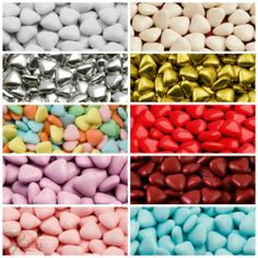 Mini Heart Chocolate Dragees High Quality Wedding Party Favours Christmas Sweets