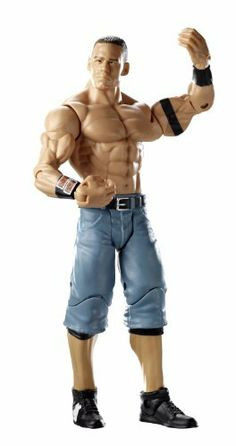 """WWE John Cena Royal Rumble Heritage Figure - PPV Series #6 by Mattel. $6.99. WWE Royal Rumble Heritage series action figures in 6"""" superstar scale. Kids can recreate their favorite WWE matches. Collect all your favorites WWE Superstars. Bring home the officially licensed WWE action. Features extreme articulation, amazing accuracy, and authentic details. World Wrestling Entertainment Royal Rumble Heritage Figure - PPV Series #6: Bring home all the action of the WWE. Kids c..."""