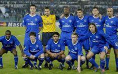 Lazio 0 VS Chelsea 4  4 Noviembre 2003 Terry, Cudicini, Gallas, Mutu, Lampard, Veron Makelele, Bridge, Johnson, Duff, Crespo