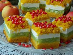 pl:: Przepisy kulinarne w jednym miejscu. Polish Recipes, Polish Food, Homemade Cakes, Yummy Cakes, Cake Recipes, Cheesecake, Food And Drink, Baking, Sweet