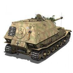 SD KFZ 184 Tank destroyer Tiger P