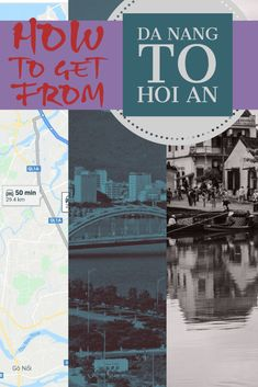 Hoi An is an amazing UNESCO World Heritage Site. Hoi An has no airport, Da Nang is the nearest city with an international airport. Hoi An is as little as 45 minutes away. We have transfer options by car, bus, train, motorbike and grab.   Vietnam | Grab travel | travel to Hoi An | travel to Da Nang | Da Nang airport | travel in Vietnam | Hoi An attractions | Things to do in Da Nang | #travel #asia #Vietnam #unesco #hoian