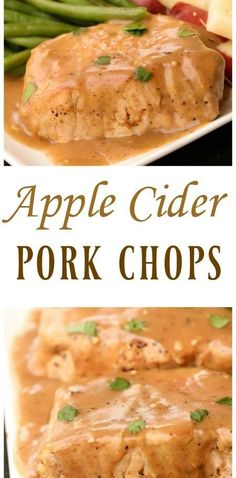 Apple Cider Pork Cho