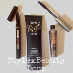 {Style x Beauty Dept} Benefit They're Real! Push Up Liner, Mascara and Makeup Remover