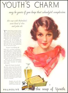 PALMOLIVE SOAP GOOD HOUSEKEEPING 12/01/1933 p. 140