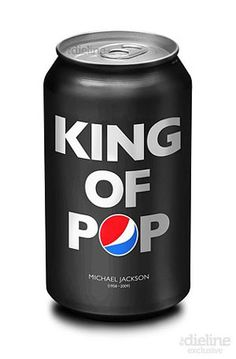 PEPSI design - dedicated to the King of Pop, Michael Jackson Coca Cola, Graphic Design Blog, Diet Pepsi, Beverage Packaging, Jouer, Packaging Design, Canning, Creative, Soft Drink