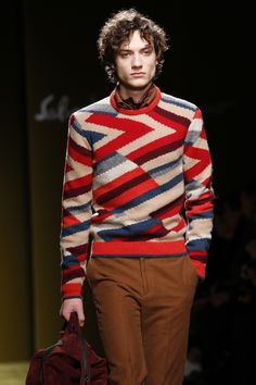See detail photos for Salvatore Ferragamo Fall 2016 Menswear collection.