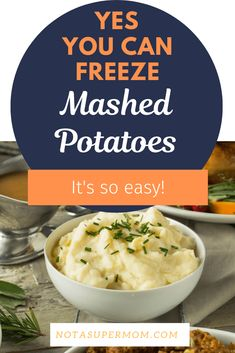 Make Thanksgiving so easy by making ahead and freezing your mashed potatoes. Never mealy, always creamy and extra delicious. Freezing Mashed Potatoes, Cheesy Potatoes, Baked Potatoes, Thanksgiving Dinner Recipes, Holiday Dinner, Holiday Recipes, Breakfast Recipes, Snack Recipes, Amigurumi