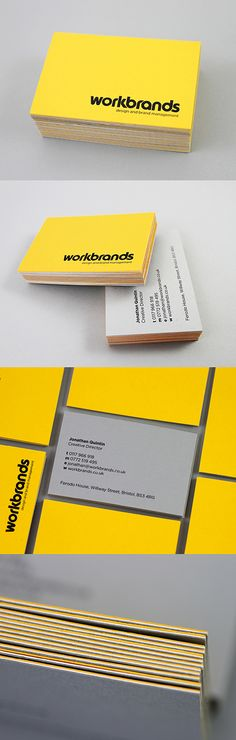 Not a fan of the colour or typeface, but some nice images with the layout of the card