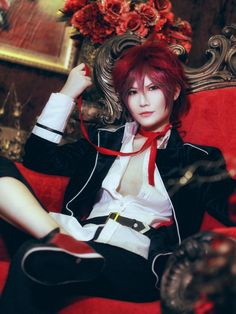 DIABOLIK LOVERS - Steamed buns(诺馒头) Ayato Sakamaki Cosplay Photo - Cure WorldCosplay