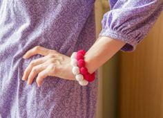 Double teething bracelet for babywearing mom Nursing by MyFirstToy