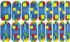 Gamer Girl | Jamberry Tetris, retro game NAS1435342