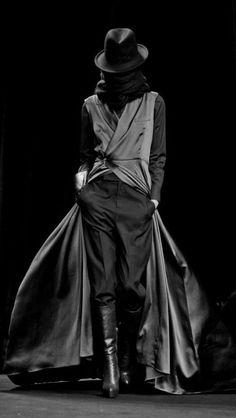 1522bb315f7ad A.F. Vandevorst 2012 Fall RTW An Vanderhorst and Filip Arickx  Dark  Fashion