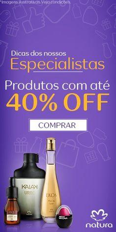 Cupom desconto de 5% na 1a compra! Acesse www.rede.natura.com.br/gabiminhanatura