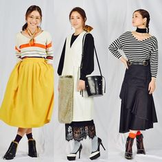 Because she dress for the job she wants - a fashion editor. Japan Fashion, Daily Fashion, Asian Street Style, Fashion Outfits, Womens Fashion, Fashion Tips, Asian Cute, Love Her Style, Fashion Editor