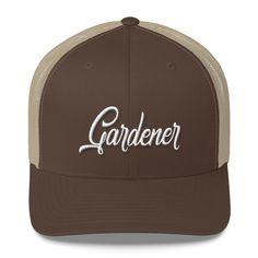 The Gardener Cap – Buy Australian Caps Online