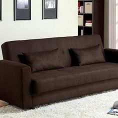 Hokku Designs Proxi Storage Sleeper Sofa