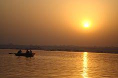 Varanasi, rio Ganges, by Rosa C ERA