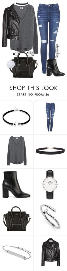 """25❤"" by inlovewithtay on Polyvore featuring mode, Topshop, Humble Chic, Gianvito Rossi, Daniel Wellington, CÉLINE et Acne Studios"