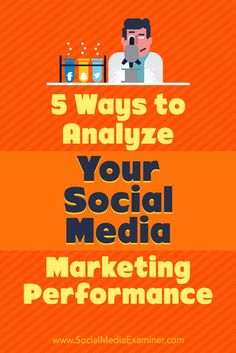 Auditing key social media metrics can reveal which aspects of your social media marketing are working and provide insight into which areas you can improve upon.  In this article, you��ll discover five ways to analyze the effectiveness of your social media